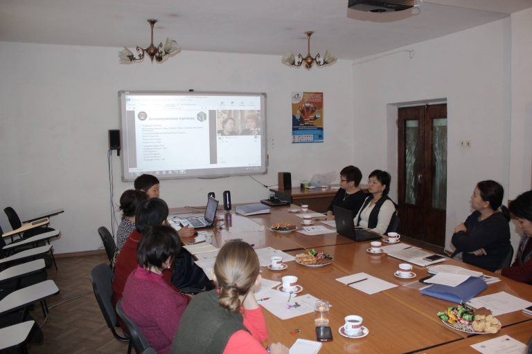 "MONITORING OF THE PROJECT ""EUROPEAN DIMENSION IN QUALIFICATIONS FOR THE TOURIST SECTOR"" WAS HELD AT THE ADAM / BAFE UNIVERSITY (BISHKEK)"